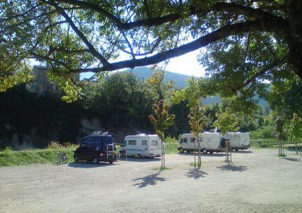 Aire de Camping-Cars de Saillans