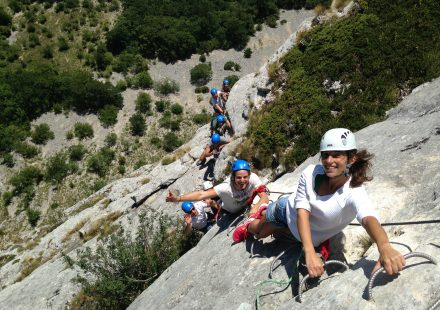 Rock Climbing and Via Ferrata with EVA Location
