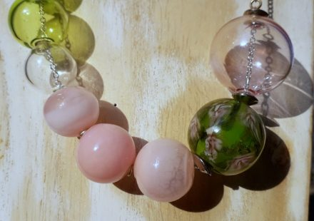 Blowlamp glass beads lessons