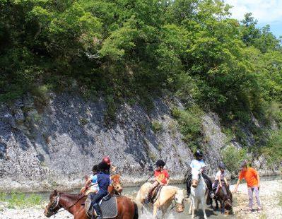 Balade à cheval – L'Ecrin d'Illusion