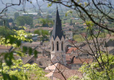 Loriol, remarkable village